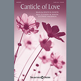 Download Joseph M. Martin Canticle Of Love Sheet Music arranged for SATB - printable PDF music score including 14 page(s)