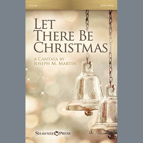 Joseph M. Martin Let There Be Christmas Orchestration - Percussion 1 & 2 profile picture