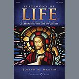Download or print Testimony of Life - Harp Sheet Music Notes by Joseph M. Martin for Choir Instrumental Pak