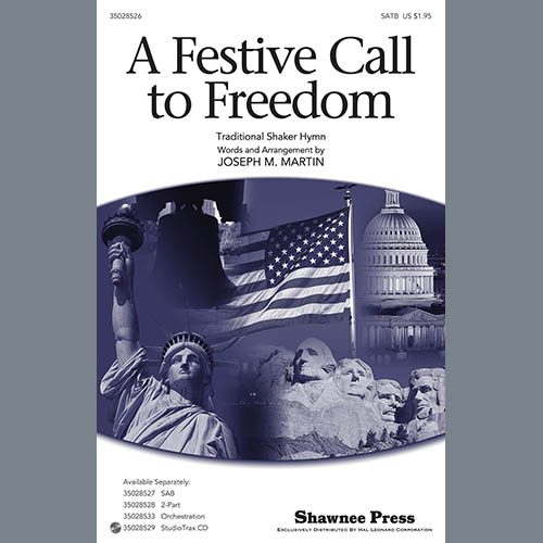Joseph Martin A Festive Call to Freedom - Score pictures