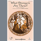 Download or print What Strangers Are These? (from Winter's Grace) - Bb Clarinet 1 & 2 Sheet Music Notes by Joseph Martin for Choir Instrumental Pak