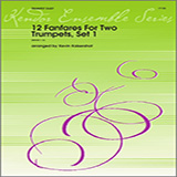Download Kaisershot 12 Fanfares For Two Trumpets, Set 1 Sheet Music arranged for Brass Ensemble - printable PDF music score including 6 page(s)