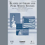 Download Keith Christopher Blades Of Grass And Pure White Stones - Trombone 1 & 2 Sheet Music arranged for Choir Instrumental Pak - printable PDF music score including 1 page(s)