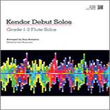 Download Kempton Kendor Debut Solos - Flute Sheet Music arranged for Woodwind Solo - printable PDF music score including 16 page(s)