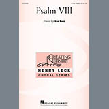 Download or print Psalm VIII Sheet Music Notes by Ken Berg for 3-Part Treble Choir