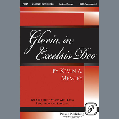 Kevin A. Memley Gloria in Excelsis Deo - Full Score profile picture