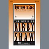 Download Kirby Shaw Brothers In Song Sheet Music arranged for Choral TBB - printable PDF music score including 7 page(s)