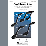 Download Kirby Shaw Caribbean Blue - Guitar Sheet Music arranged for Choir Instrumental Pak - printable PDF music score including 2 page(s)