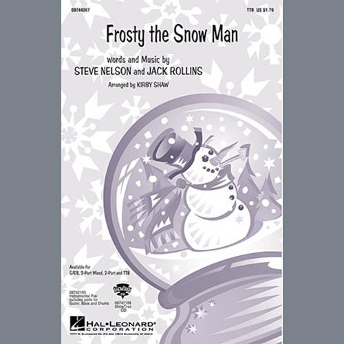 The Ronettes Frosty The Snowman (arr. Kirby Shaw) profile picture