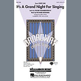 Download Kirby Shaw It's a Grand Night for Singing - Tenor Sax Sheet Music arranged for Choir Instrumental Pak - printable PDF music score including 1 page(s)