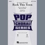 Download Kirby Shaw Rock This Town Sheet Music arranged for TBB Choir - printable PDF music score including 10 page(s)