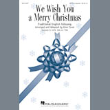 Download Kirby Shaw We Wish You A Merry Christmas Sheet Music arranged for TTBB - printable PDF music score including 4 page(s)