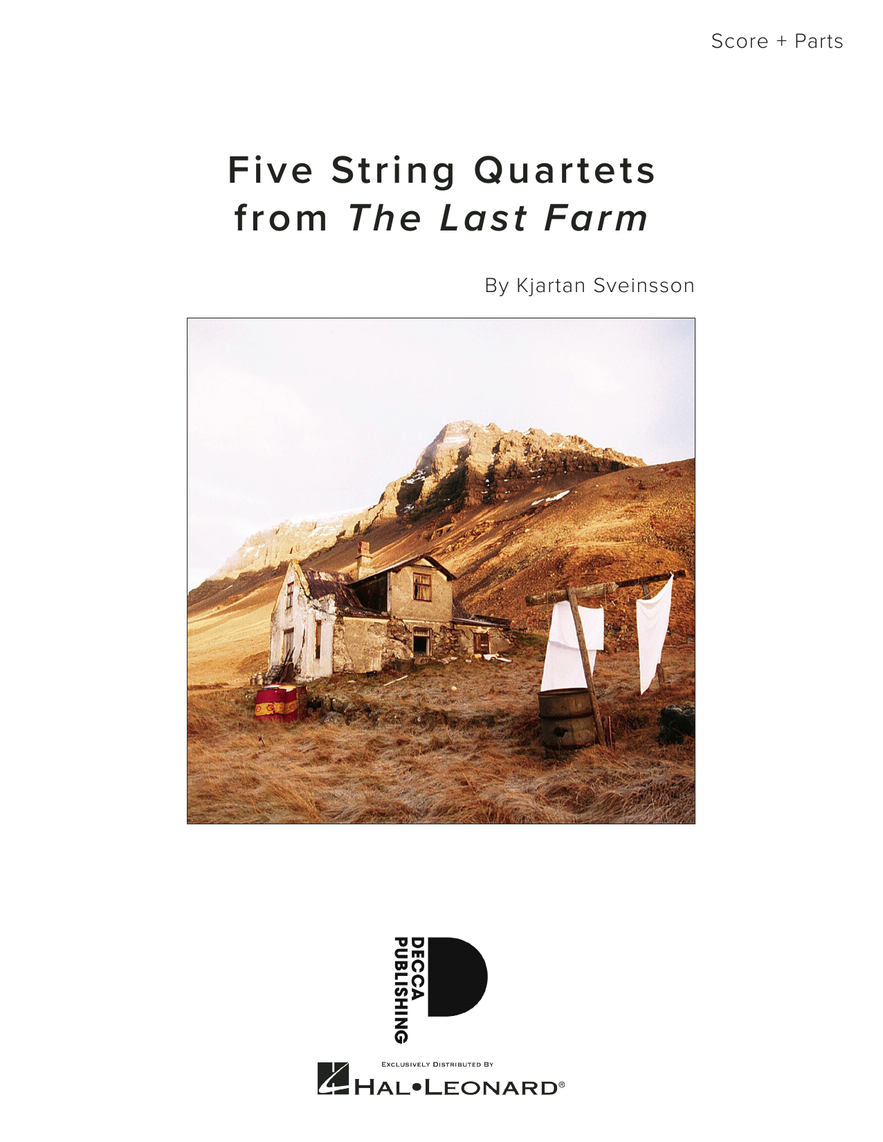 Download Kjartan Sveinsson 'Five String Quartets from The Last Farm - Full Score' Digital Sheet Music Notes & Chords and start playing in minutes