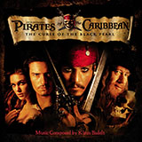 Download Klaus Badelt He's A Pirate (from Pirates Of The Caribbean: The Curse Of The Black Pearl) Sheet Music arranged for Melody Line - printable PDF music score including 2 page(s)