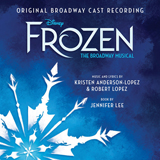 Download Kristen Anderson-Lopez & Robert Lopez Dangerous To Dream [Solo version] (from Frozen: The Broadway Musical) Sheet Music arranged for Piano & Vocal - printable PDF music score including 9 page(s)