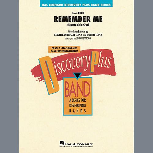 Kristen Anderson-Lopez & Robert Lopez Remember Me (from Coco) (arr. Johnnie Vinson) - Eb Alto Saxophone 2 profile picture