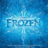 Download Kristen Bell & Santino Fontana Love Is An Open Door (from Disney's Frozen) Sheet Music arranged for Very Easy Piano - printable PDF music score including 2 page(s)
