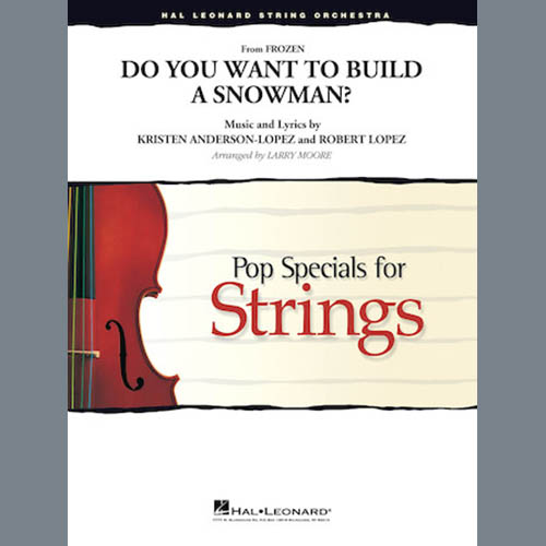 Kristen Bell, Agatha Lee Monn & Katie Lopez Do You Want To Build A Snowman (from Frozen) (arr. Larry Moore) - Violin 2 profile picture