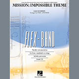 Download Lalo Schifrin Mission: Impossible Theme (arr. Paul Lavender) - Pt.3 - Bb Clarinet/Tenor Sax Sheet Music arranged for Concert Band - printable PDF music score including 1 page(s)