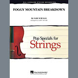 Download Larry Moore Foggy Mountain Breakdown - Violin 3 (Viola Treble Clef) Sheet Music arranged for Orchestra - printable PDF music score including 2 page(s)