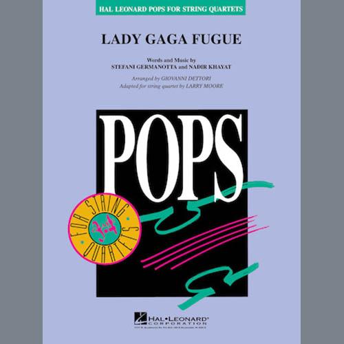 Larry Moore Lady Gaga Fugue - Violin 2 profile picture