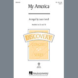Download Laura Farnell My America (Choral Medley) Sheet Music arranged for TB Choir - printable PDF music score including 9 page(s)