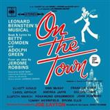 Download or print Lonely Town (from On The Town) Sheet Music Notes by Leonard Bernstein for Piano