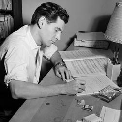 Download or print Take Care Of This House Sheet Music Notes by Leonard Bernstein for Piano