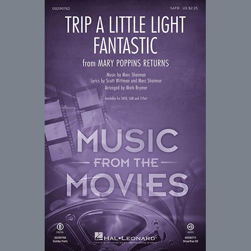 Lin-Manuel Miranda Trip a Little Light Fantastic (from Mary Poppins Returns) (arr. Mark Brymer) - Baritone Sax profile picture