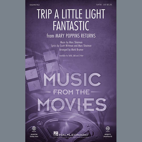 Lin-Manuel Miranda Trip a Little Light Fantastic (from Mary Poppins Returns) (arr. Mark Brymer) - Drums profile picture