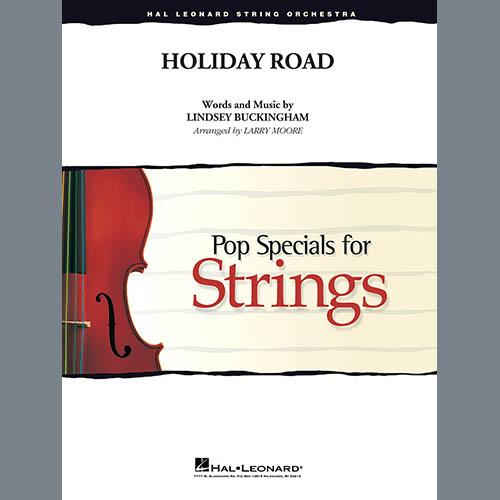 Lindsey Buckingham Holiday Road (from National Lampoon's Vacation) (arr. Larry Moore) - Violin 3 (Viola Treble Clef) profile picture
