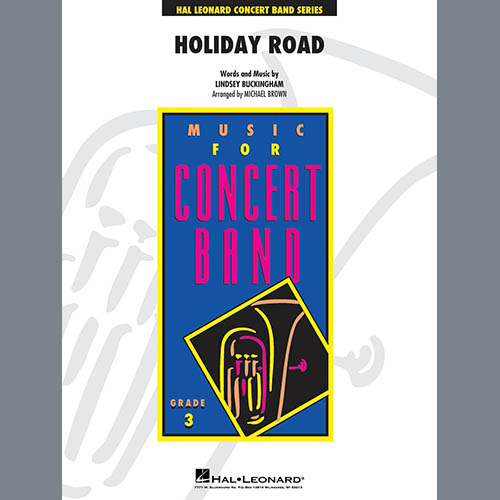 Lindsey Buckingham Holiday Road (from National Lampoon's Vacation) (arr. Michael Brown) - Conductor Score (Full Score) profile picture