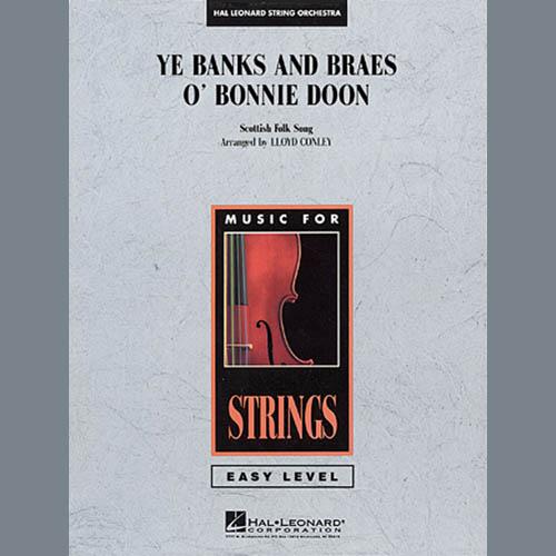Lloyd Conley Ye Banks and Braes O' Bonnie Doon - Violin 3 (Viola Treble Clef) profile picture