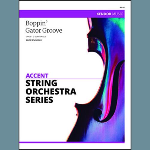 Lorie Gruneisen Boppin' Gator Groove - Full Score profile picture