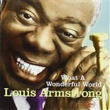 Download Louis Armstrong What A Wonderful World Sheet Music arranged for Piano - printable PDF music score including 3 page(s)