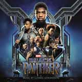 Download or print Wakanda Sheet Music Notes by Ludwig Goransson for Piano
