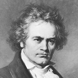 Download or print Symphony No.1, Andante Sheet Music Notes by Ludwig van Beethoven for Piano