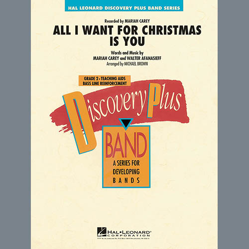 Mariah Carey All I Want for Christmas Is You (arr. Michael Brown) - Conductor Score (Full Score) profile picture