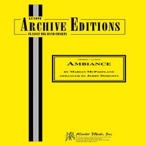 Marian McPartland Ambiance - 2nd Eb Alto Saxophone profile picture