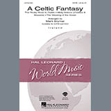 Download Mark Brymer A Celtic Fantasy - Harp Sheet Music arranged for Choir Instrumental Pak - printable PDF music score including 4 page(s)