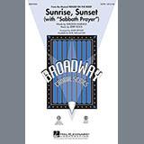 Download Mark Brymer Sunrise, Sunset (with Sabbath Prayer) - Bass Sheet Music arranged for Choir Instrumental Pak - printable PDF music score including 2 page(s)