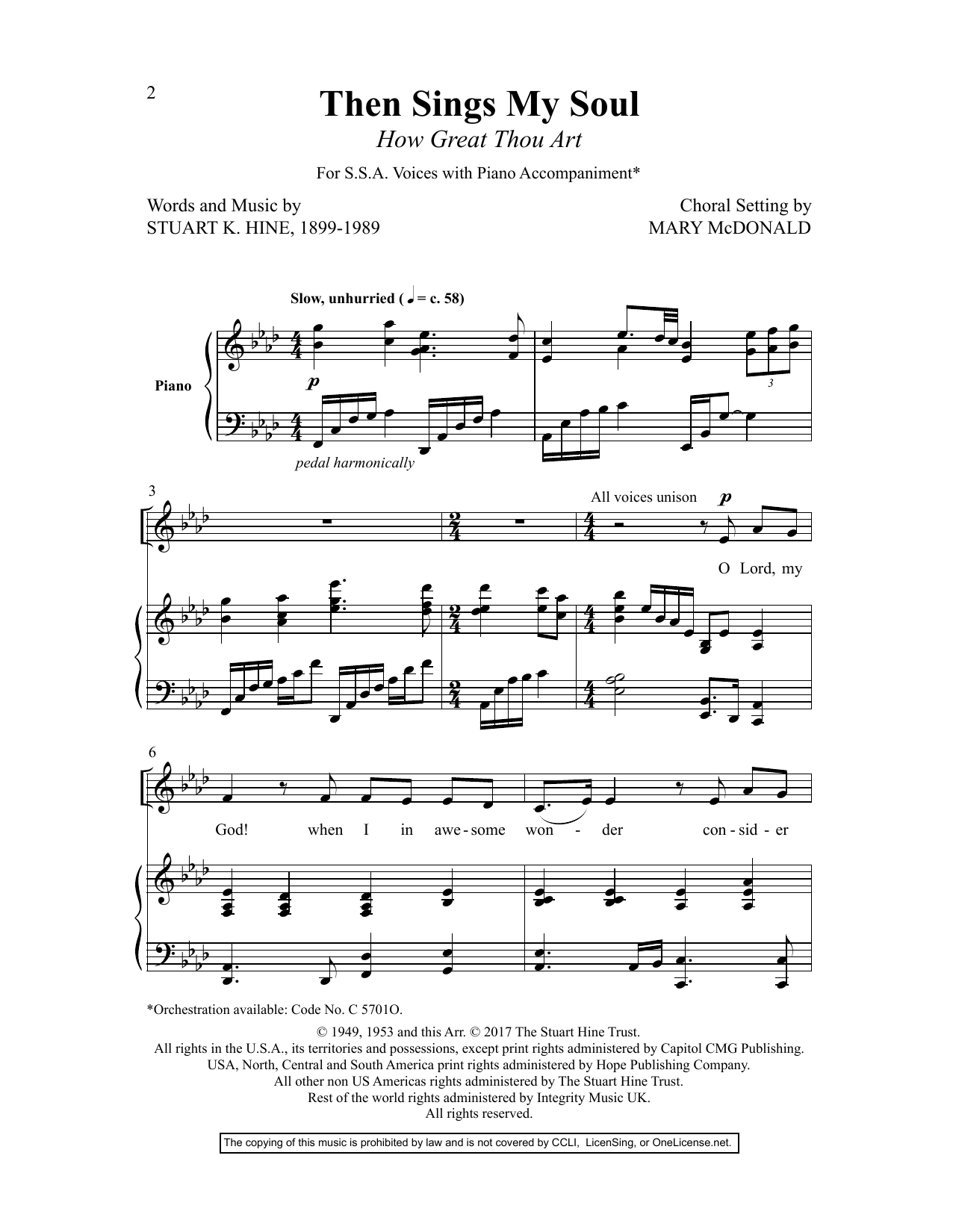 Mark Hayes Women In Song VII sheet music preview music notes and score for SSA Choir including 80 page(s)