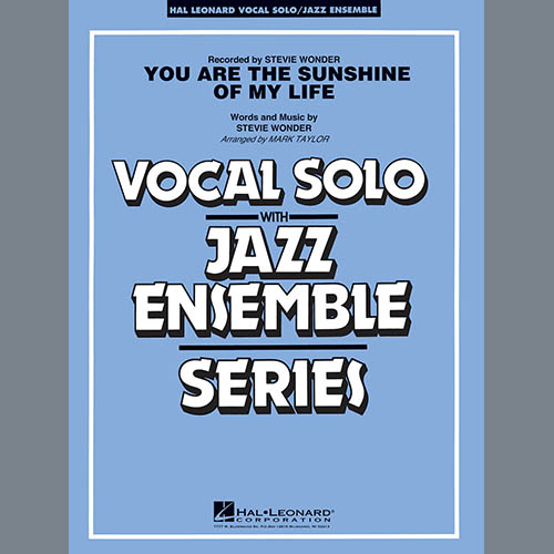 Mark Taylor You Are the Sunshine of My Life (Key: C) - Alto Sax 2 pictures