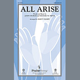 Download Michael W. Smith All Arise (arr. Marty Hamby) Sheet Music arranged for SATB - printable PDF music score including 10 page(s)