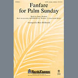 Download or print Fanfare For Palm Sunday Sheet Music Notes by Mary McDonald for Handbells