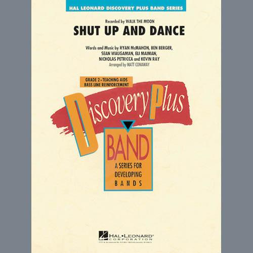 Matt Conaway Shut Up And Dance - Conductor Score (Full Score) profile picture