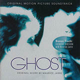 Download or print Ghost (Theme) Sheet Music Notes by Maurice Jarre for Piano