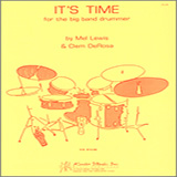 Download or print It's Time For The Big Band Drummer Sheet Music Notes by Mel Lewis for Instrumental Method