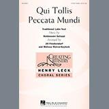 Download Melissa Malvar-Keylock Qui Tollis Peccata Mundi Sheet Music arranged for 4-Part - printable PDF music score including 9 page(s)