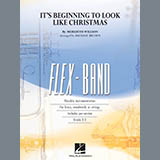 Download Meredith Willson It's Beginning to Look Like Christmas (arr. Michael Brown) - Conductor Score (Full Sco Sheet Music arranged for Concert Band: Flex-Band - printable PDF music score including 16 page(s)